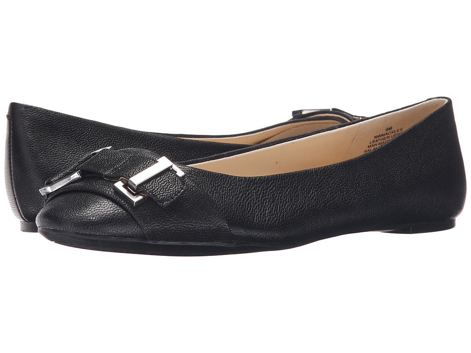 Nine West - Mackles (Off-White Leather) Women's Flat Shoes