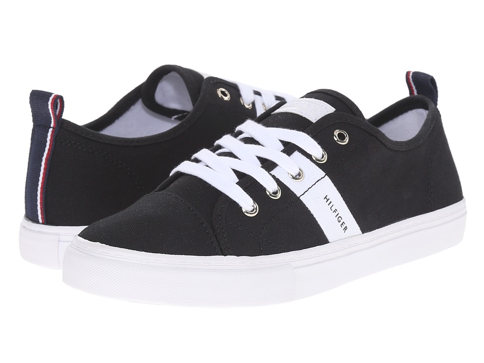 Tommy Hilfiger - Lainie2 (Black/White/Signature) Women