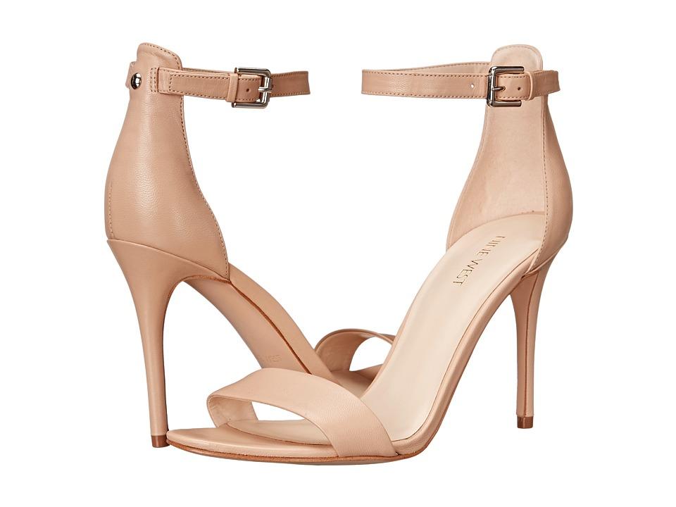 Nine West - Mana (Natural Leather) High Heels
