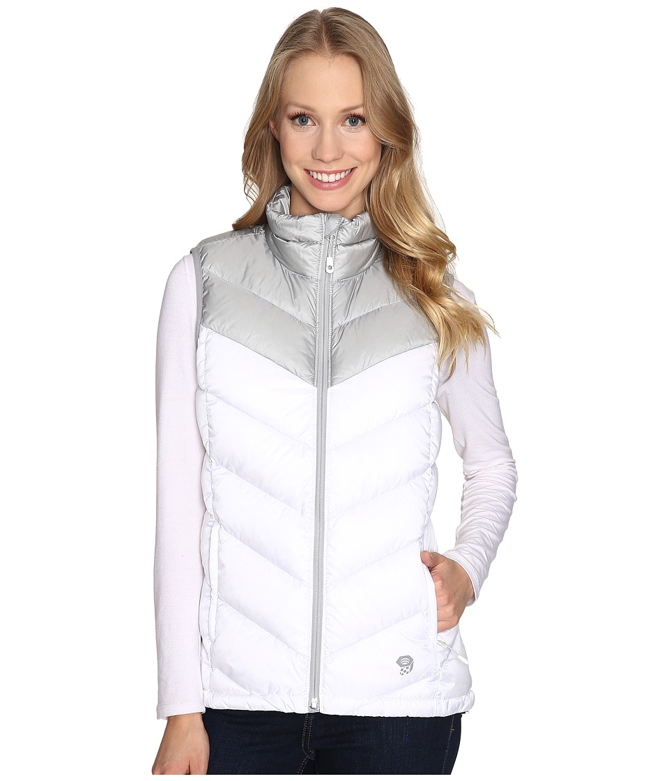 Mountain Hardwear - Ratio Down Vest (White/Steam) Women's Vest