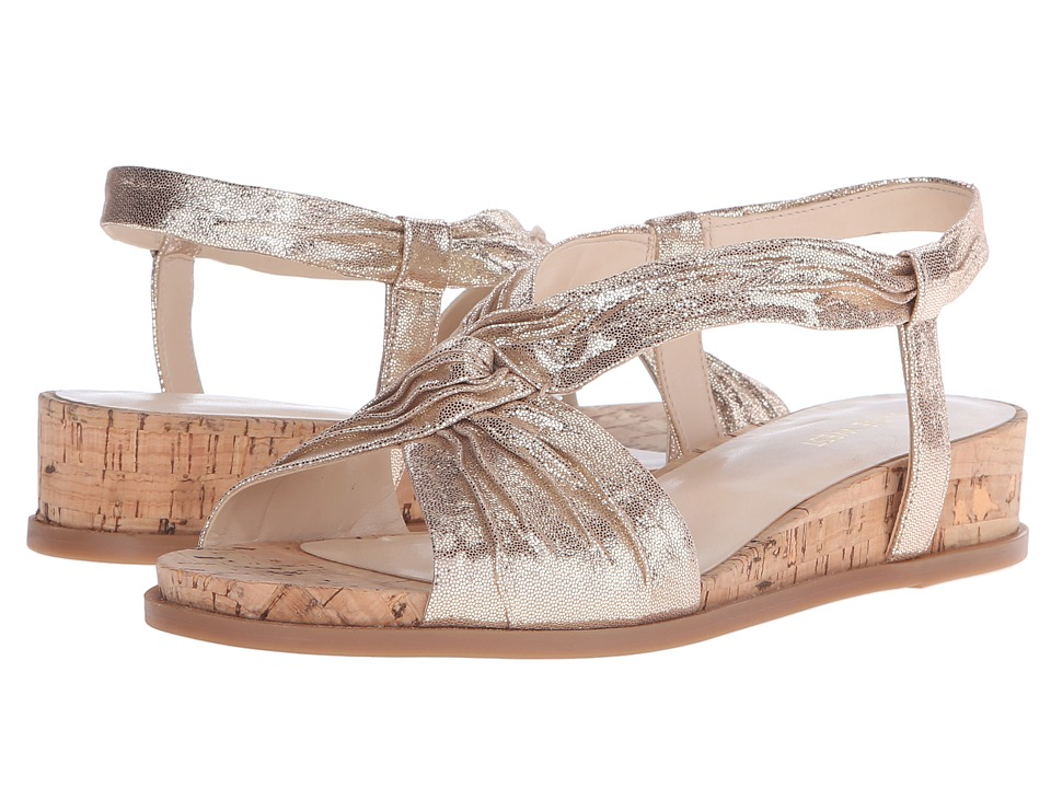 Nine West - Manwella (Light Gold Metallic) Women's Shoes