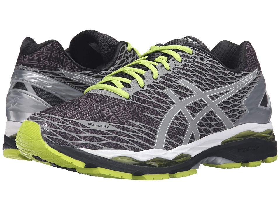 ASICS - Gel-Nimbus 18 Lite-Show (Black/Silver/Sulphur Spring) Men's Running Shoes