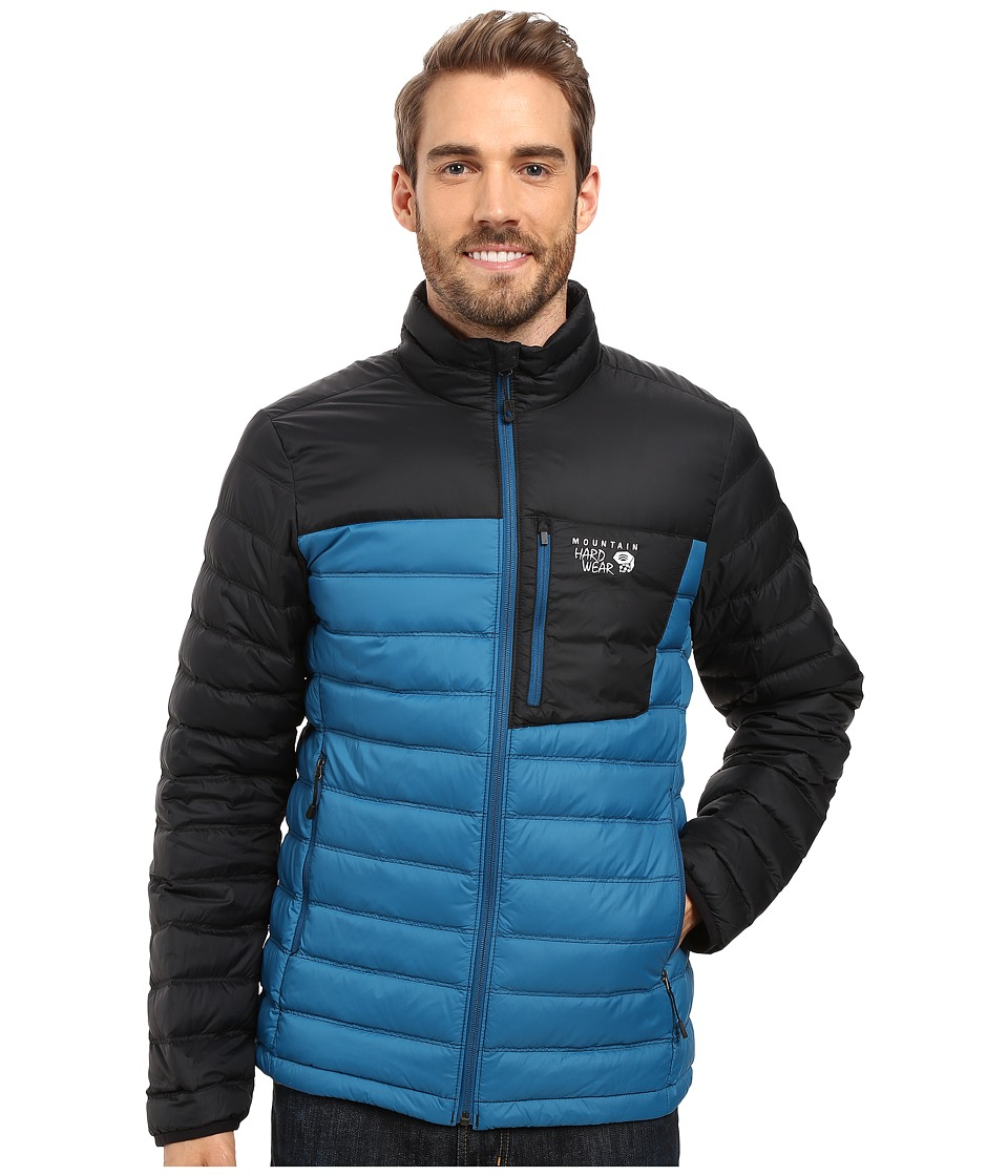 Mountain Hardwear - Dynotherm Down Jacket (Phoenix Blue/Black) Men's Coat