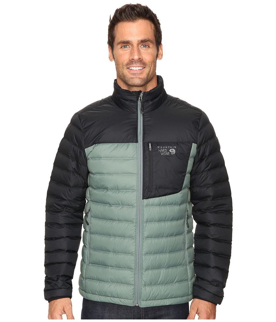 Mountain Hardwear - Dynotherm Down Jacket (Thunderhead Grey/Black) Men's Coat