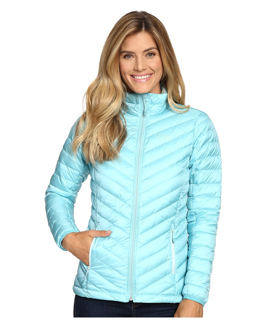 Mountain Hardwear - Micro Ratio Down Jacket (Spruce Blue) Women's Coat
