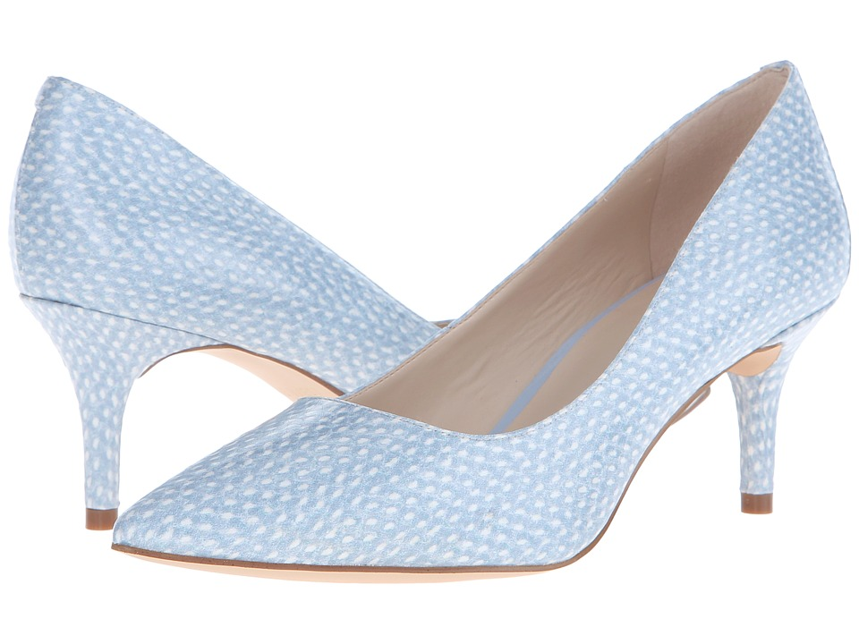 Nine West - Margot3 (Off-White/Light Blue Synthetic) Women's Shoes