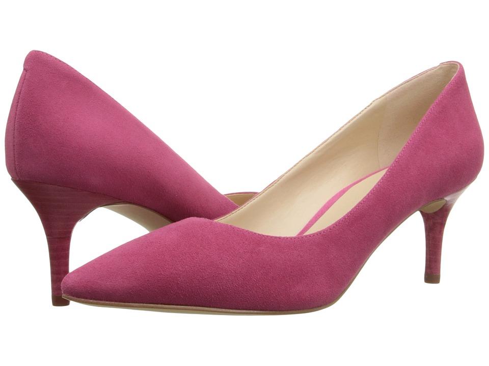 Nine West - Margot (Dark Pink Suede) High Heels