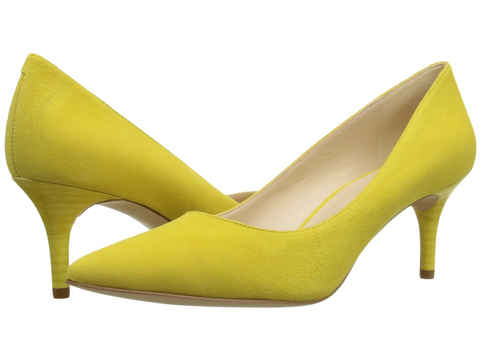 Nine West - Margot (Yellow Suede 2) High Heels