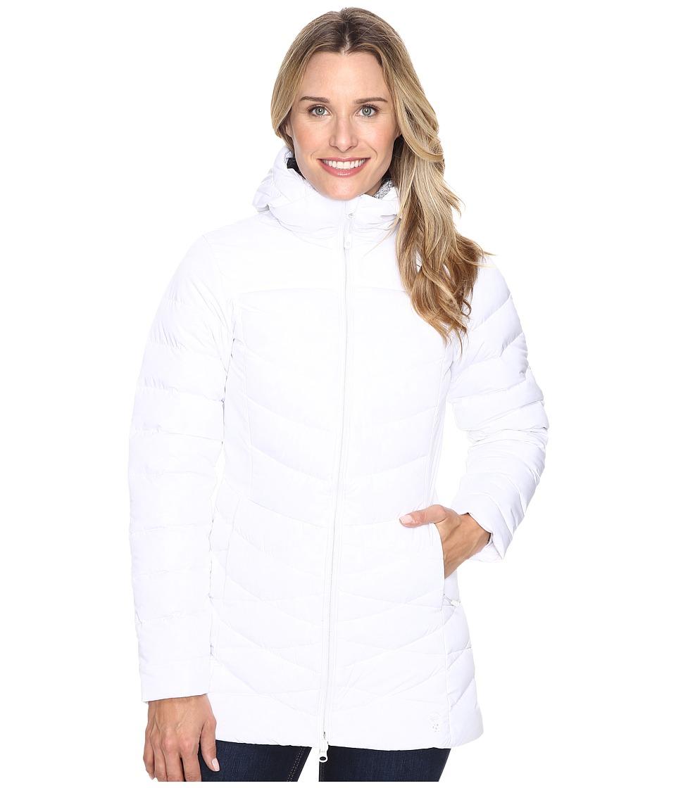 Mountain Hardwear - Downhill Metro Coat (White) Women's Coat