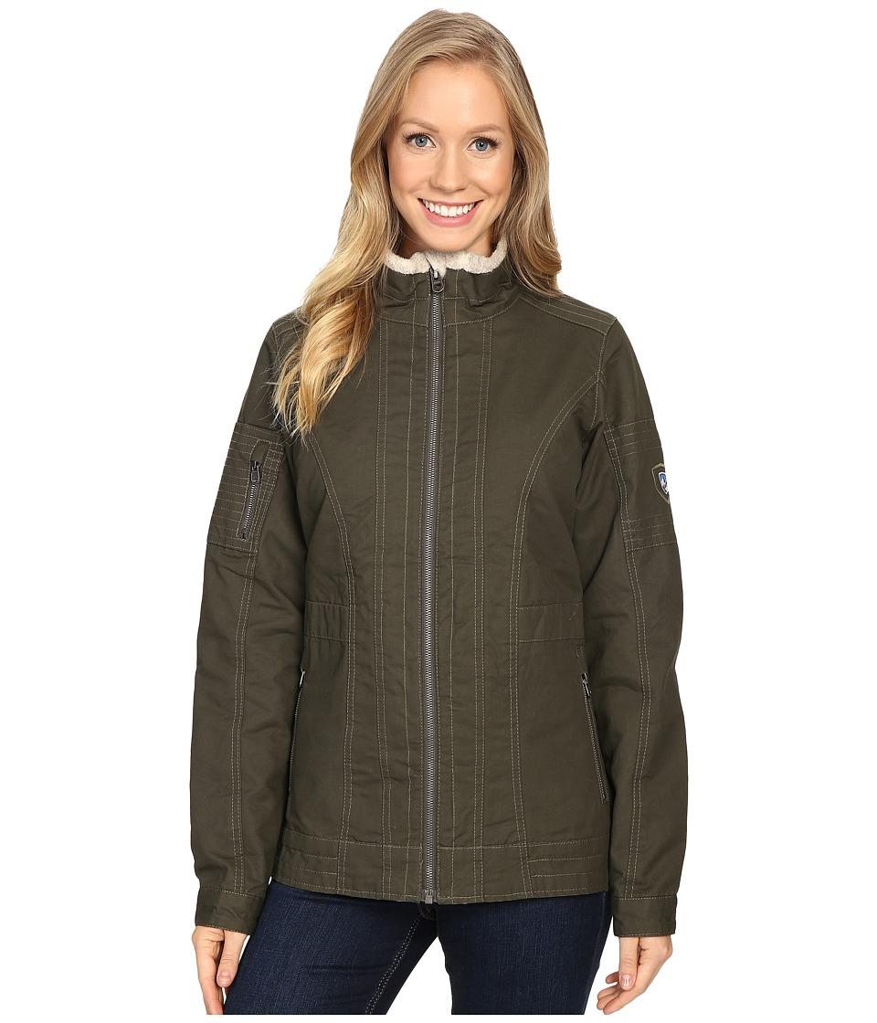 KUHL - Burr Lined Jacket (Dark Sage) Women's Coat