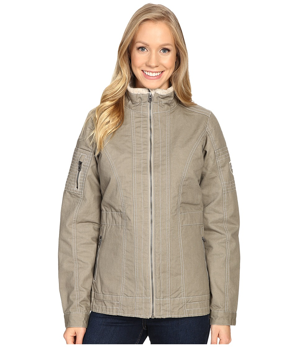 KUHL - Burr Lined Jacket (Light Khaki) Women's Coat