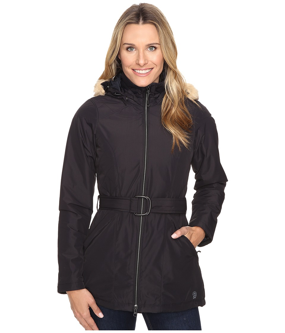 Mountain Hardwear - Potrero Insulated Parka (Black) Women's Coat
