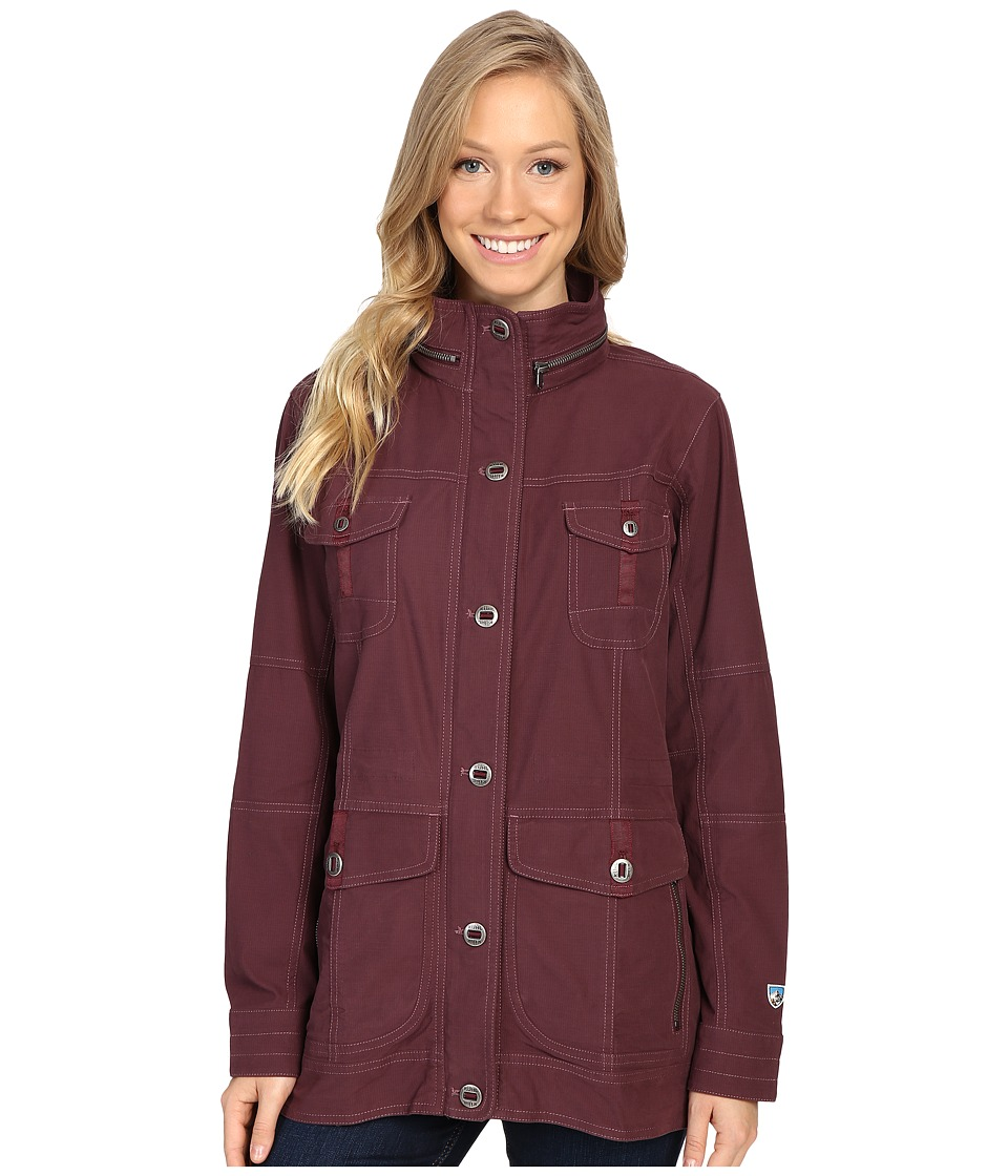Kuhl - Rekon Jacket (Burgundy) Women's Jacket
