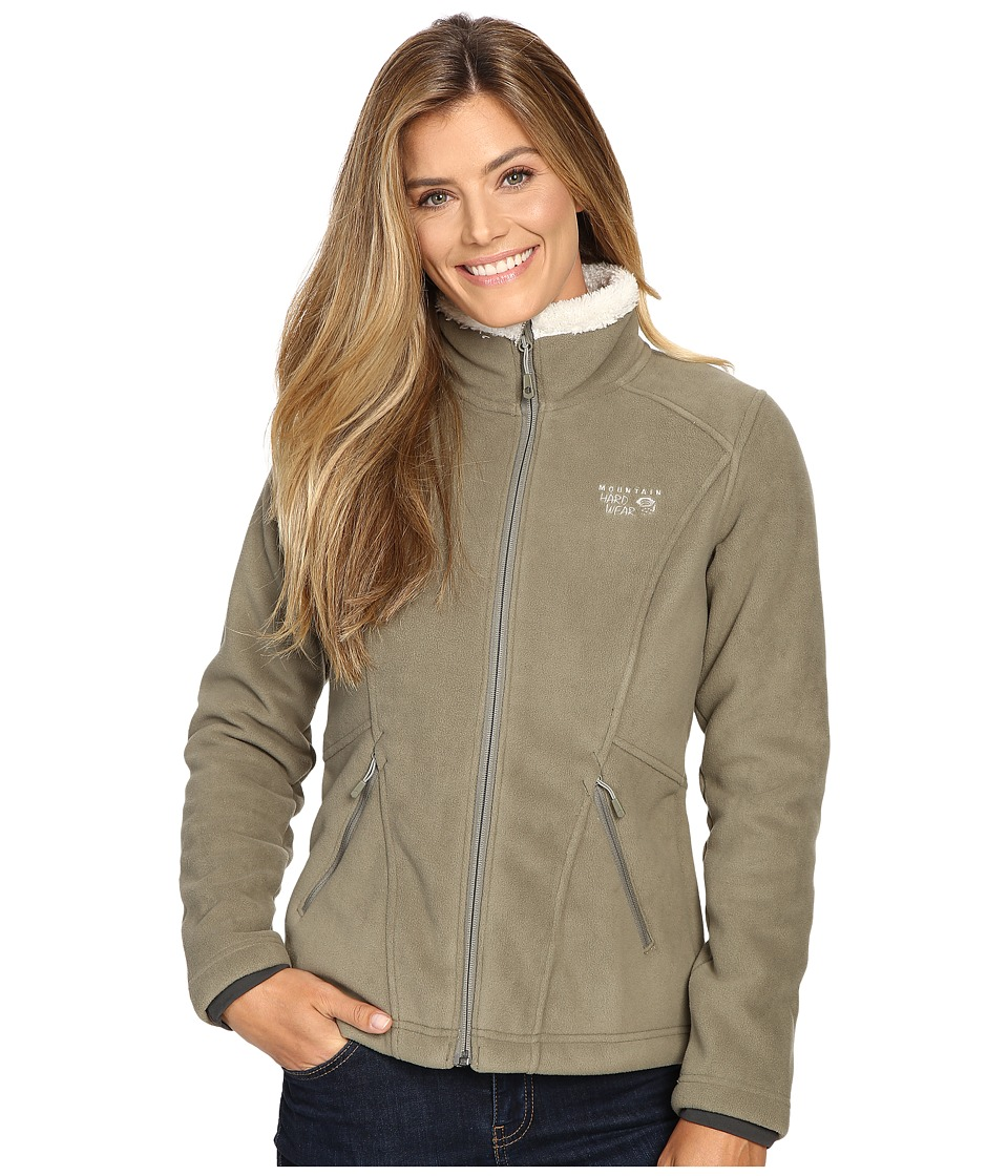 Mountain Hardwear - Dual Fleece Jacket (Stone Green) Women's Coat