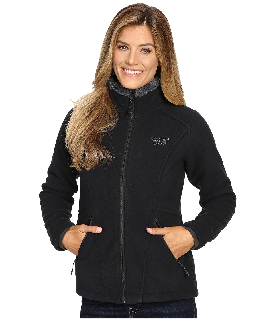 Mountain Hardwear - Dual Fleece Jacket (Black) Women's Coat