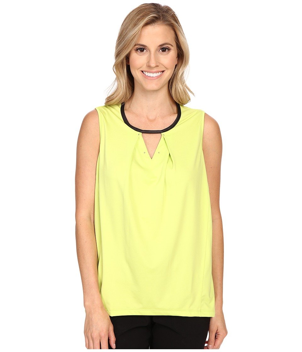 Jamie Sadock - Life Style Lisa Sleeveless Top (Lime Crime) Women's Sleeveless