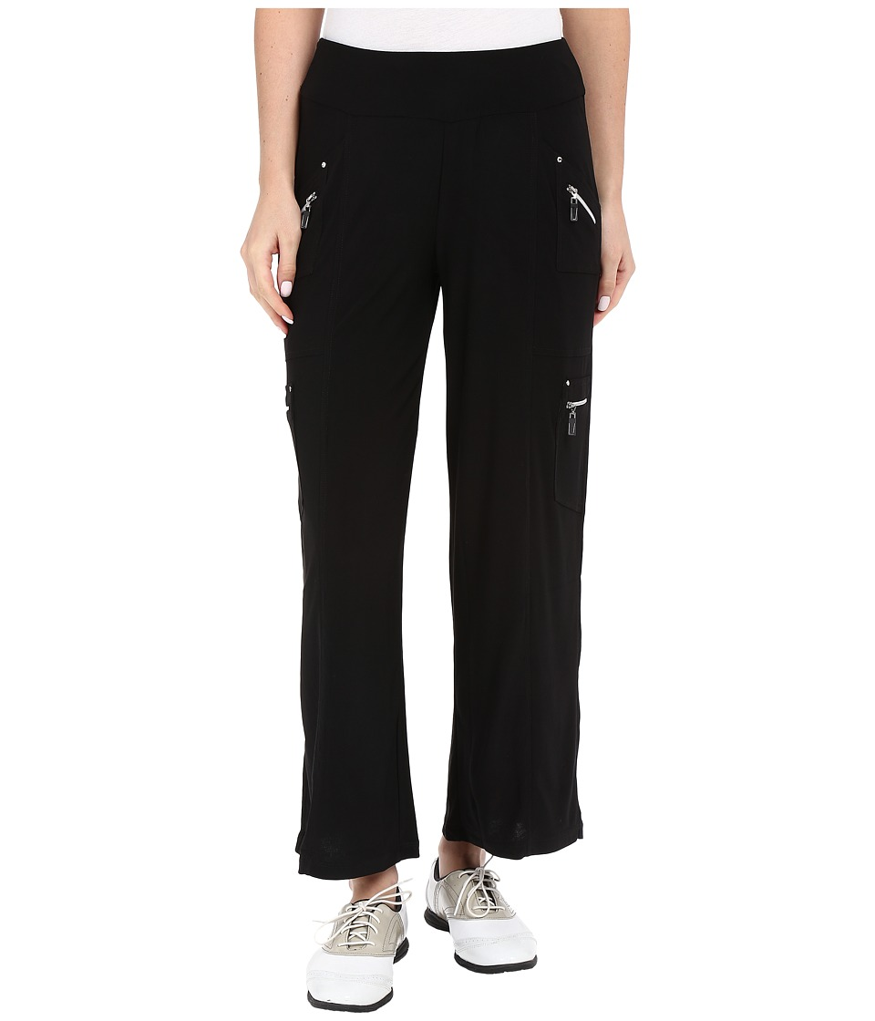 Jamie Sadock - Life Style 38 Loose Fit Pants (Jet Black) Women's Casual Pants