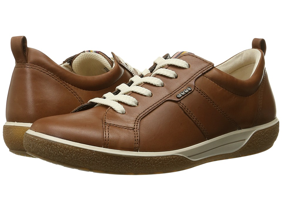 ECCO - Chase Casual Tie (Mahogany) Women's Shoes