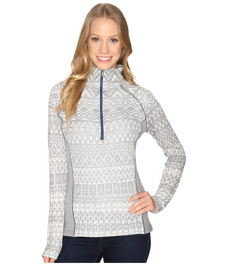 Kuhl - Adriana 1/2 Zip (Ash) Women's Long Sleeve Pullover