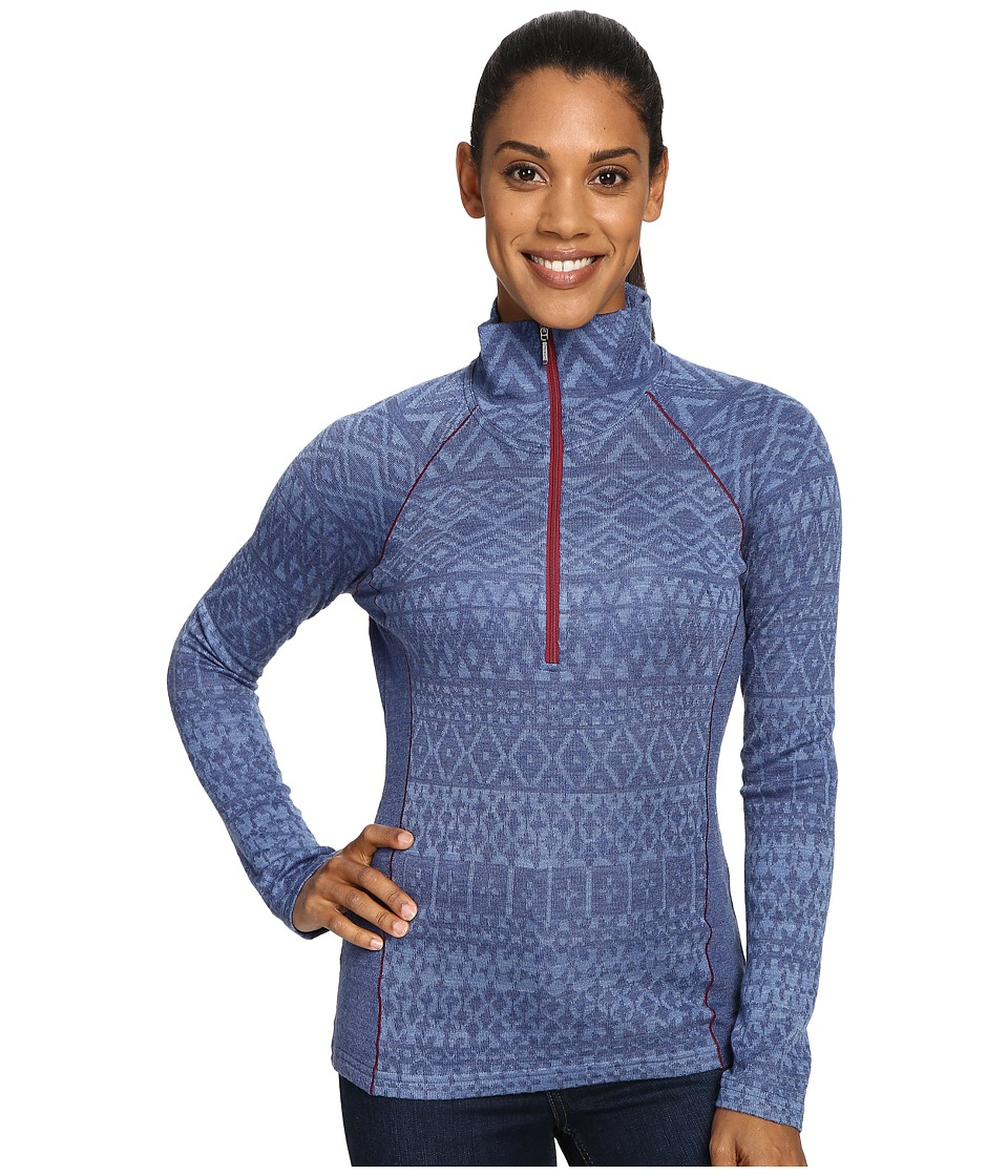 KUHL - Adriana 1/2 Zip (Blue Depths) Women's Long Sleeve Pullover