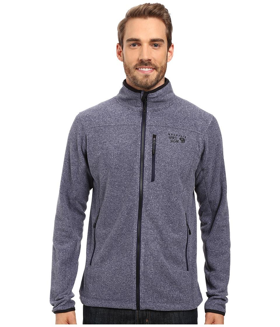Mountain Hardwear - Strecker Jacket (Heather Dark Midnight) Men's Jacket