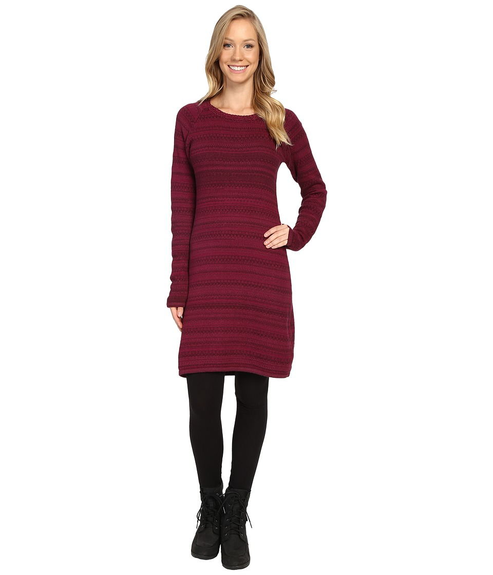 KUHL - Alessandra Sweater Tunic (Claret) Women's Dress