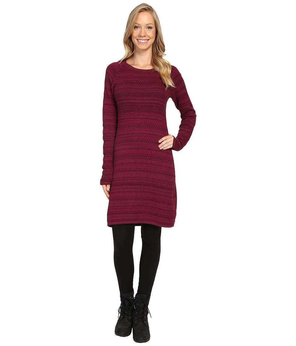 KUHL - Alessandra Sweater Tunic (Claret) Women's Dress