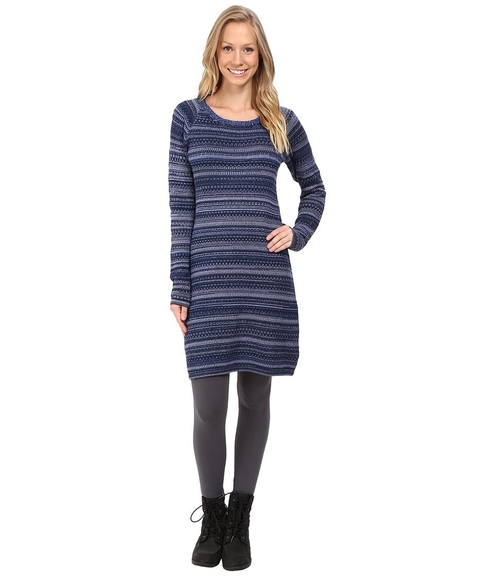 KUHL - Alessandra Sweater Tunic (Storm Blue) Women's Dress