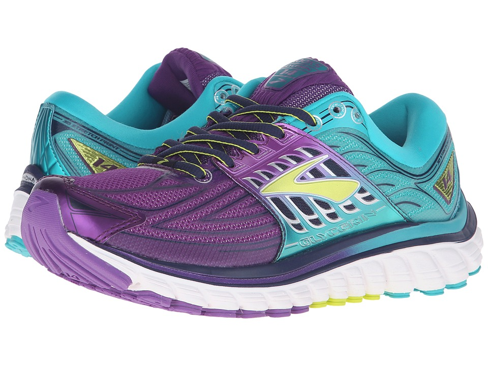 Brooks Glycerin 14 (Pansy/Ceramic/Lime Punch) Women