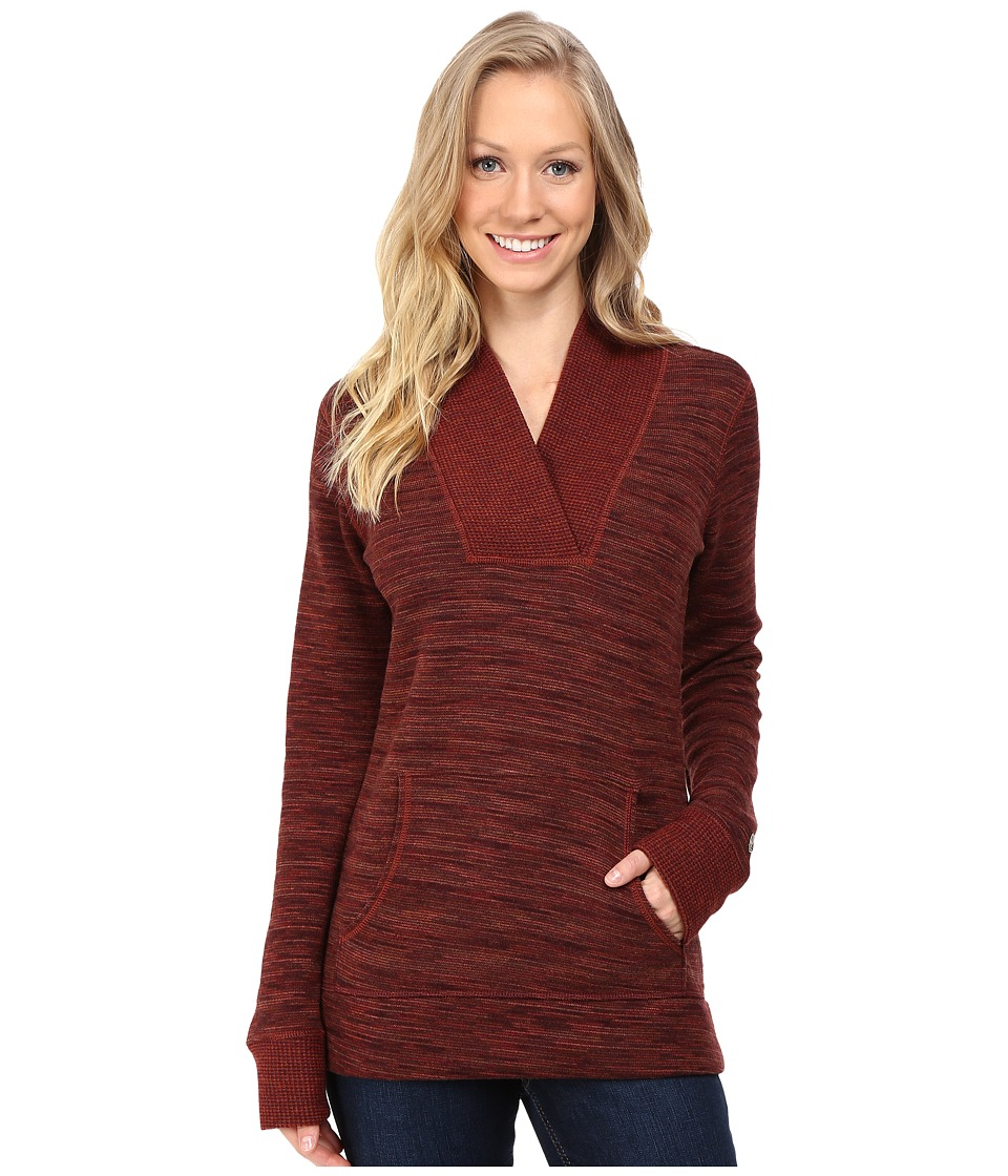 KUHL - Isla Hoodie (Red Spice) Women's Long Sleeve Pullover