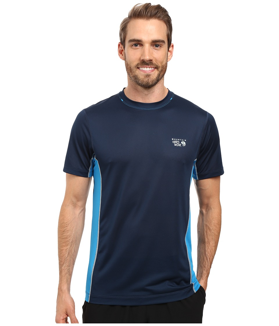 Mountain Hardwear - Wicked Lite S/S Tee (Hardwear Navy) Men's Short Sleeve Pullover