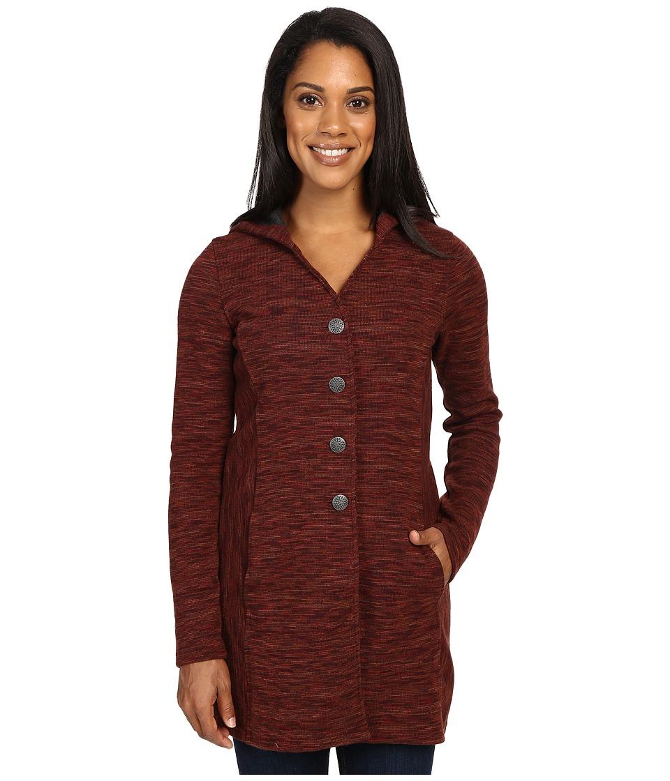 KUHL - Isla Long Coat (Red Spice) Women's Coat