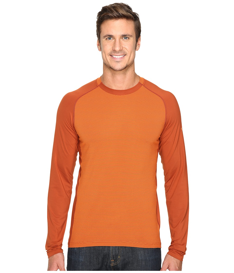 Mountain Hardwear - Butterman Crew (Dark Copper) Men's Long Sleeve Pullover