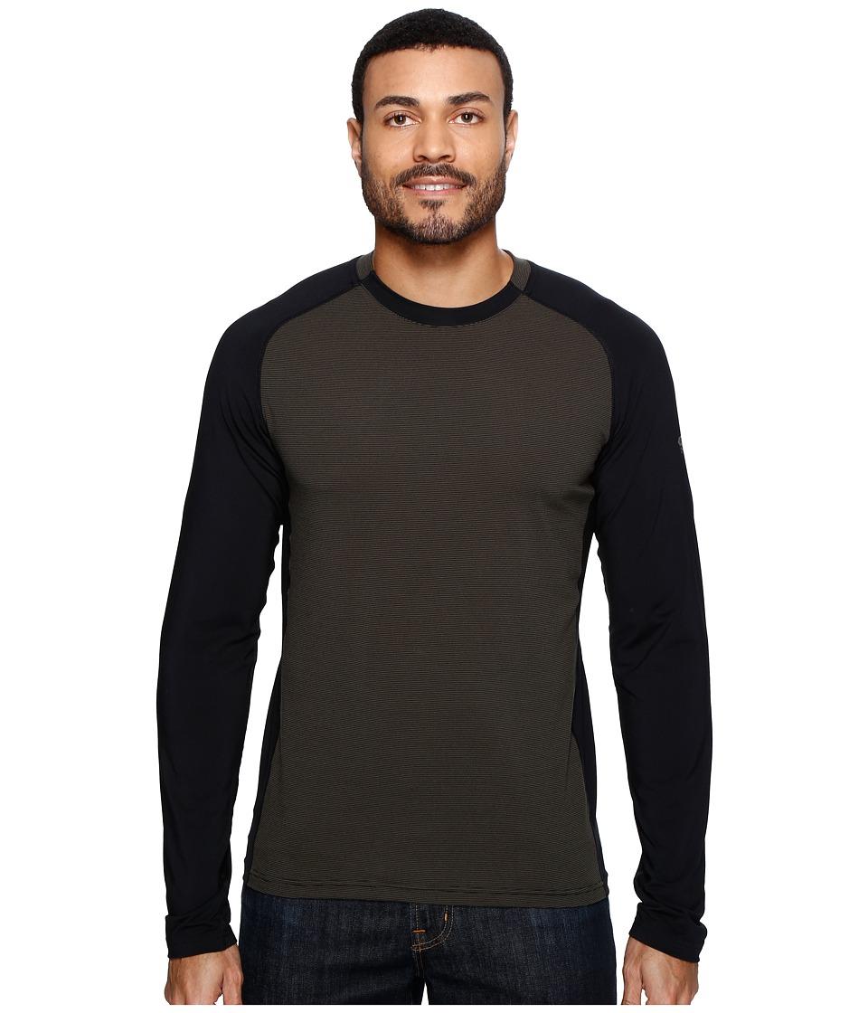 Mountain Hardwear - Butterman Crew (Black) Men's Long Sleeve Pullover