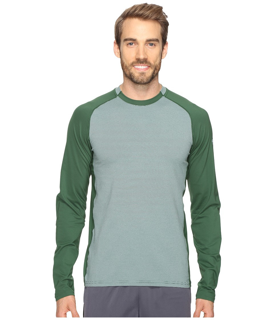 Mountain Hardwear - Butterman Crew (Forest) Men's Long Sleeve Pullover