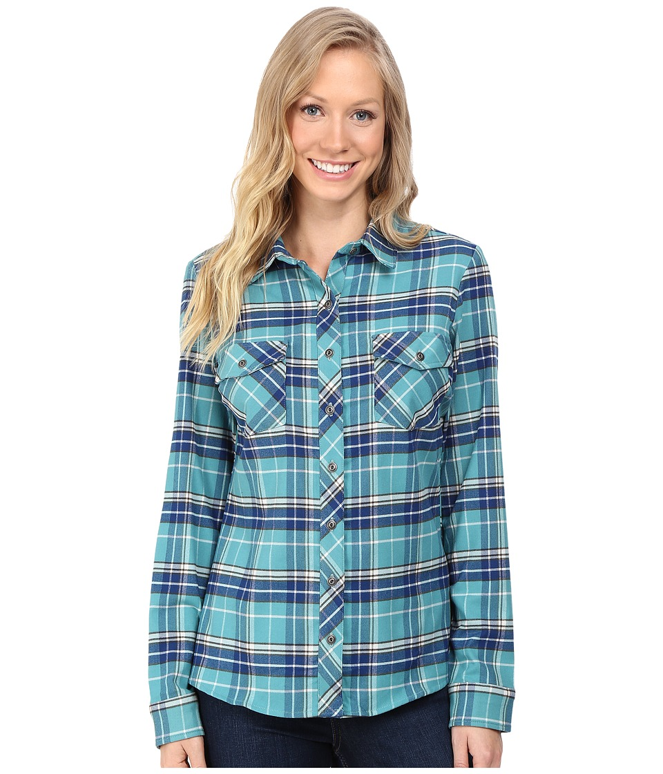 Kuhl - Alina Flannel Shirt (Jasper) Women's Long Sleeve Button Up