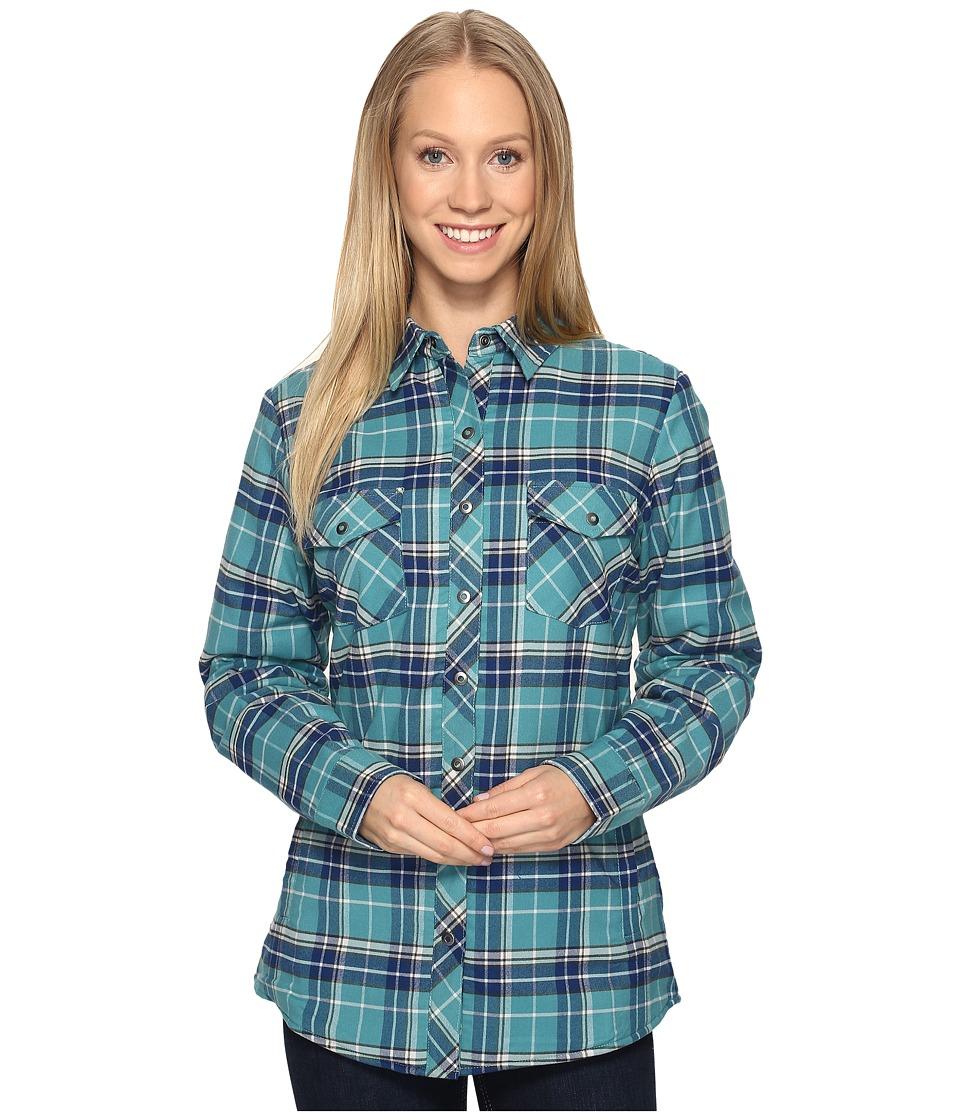 KUHL - Amaya Lined Flannel Shirt (Jasper) Women's Long Sleeve Button Up