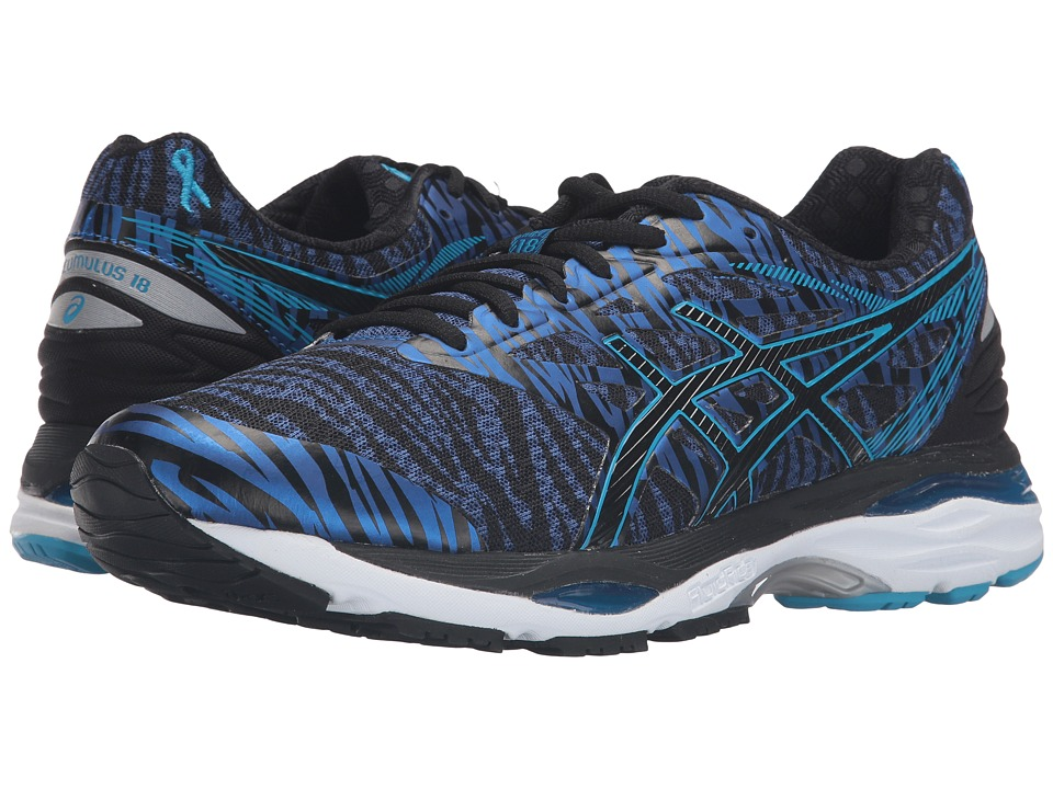 ASICS - Gel-Cumulus(r) 18 BR (Deep Blue/Island Blue/Black) Men's Running Shoes