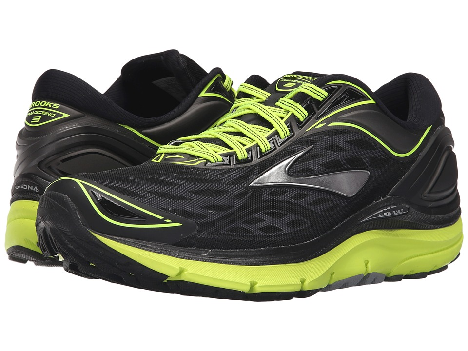 Brooks - Transcend 3 (Metallic Charcoal/Black/Nightlife) Men's Running Shoes