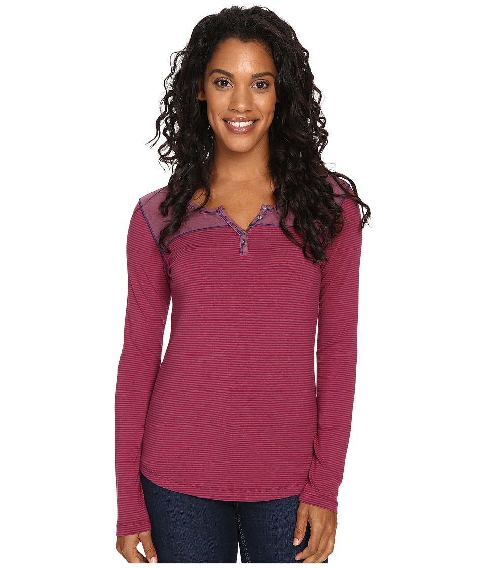 KUHL - Veloce Long Sleeve Top (Ash Rose) Women's Long Sleeve Pullover