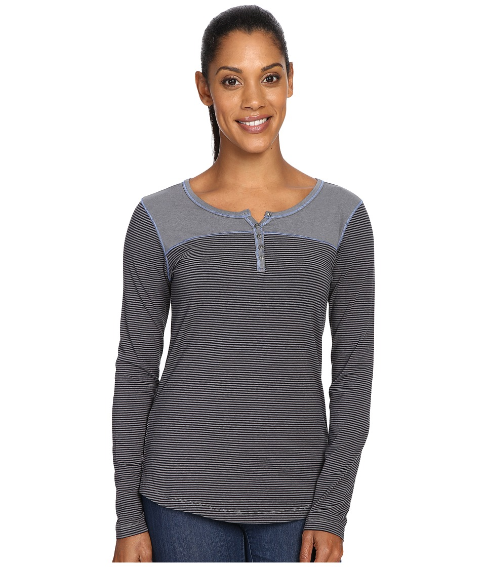 KUHL - Veloce Long Sleeve Top (Black) Women's Long Sleeve Pullover