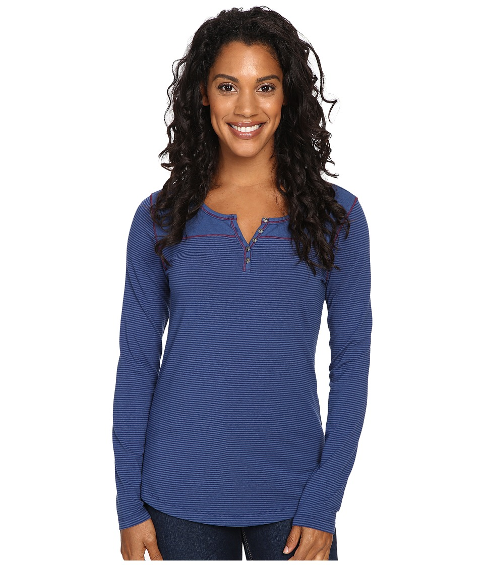 KUHL - Veloce Long Sleeve Top (Storm Blue) Women's Long Sleeve Pullover