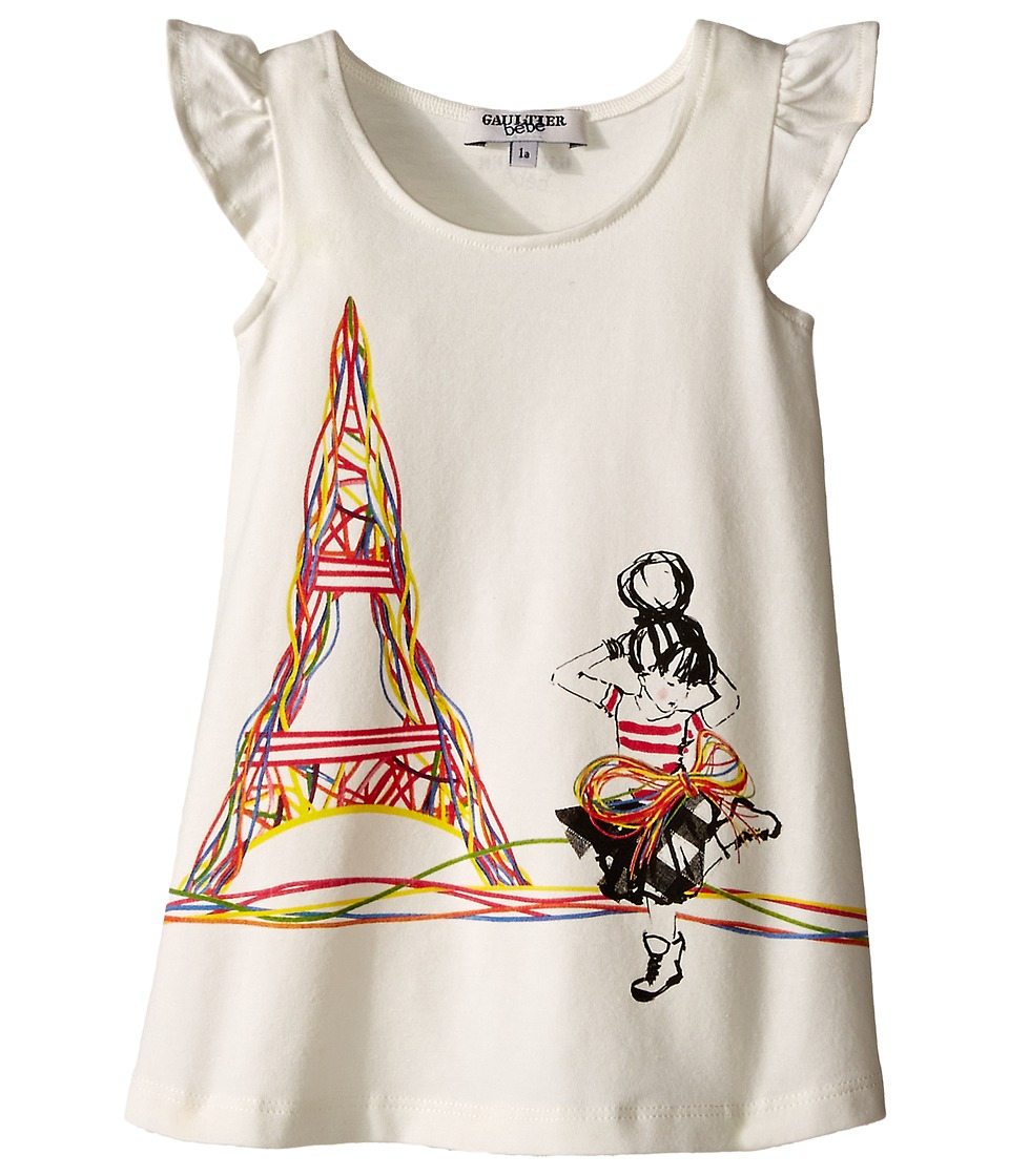 Junior Gaultier - Smile Dress (Infant) (Ecru) Girl's Dress