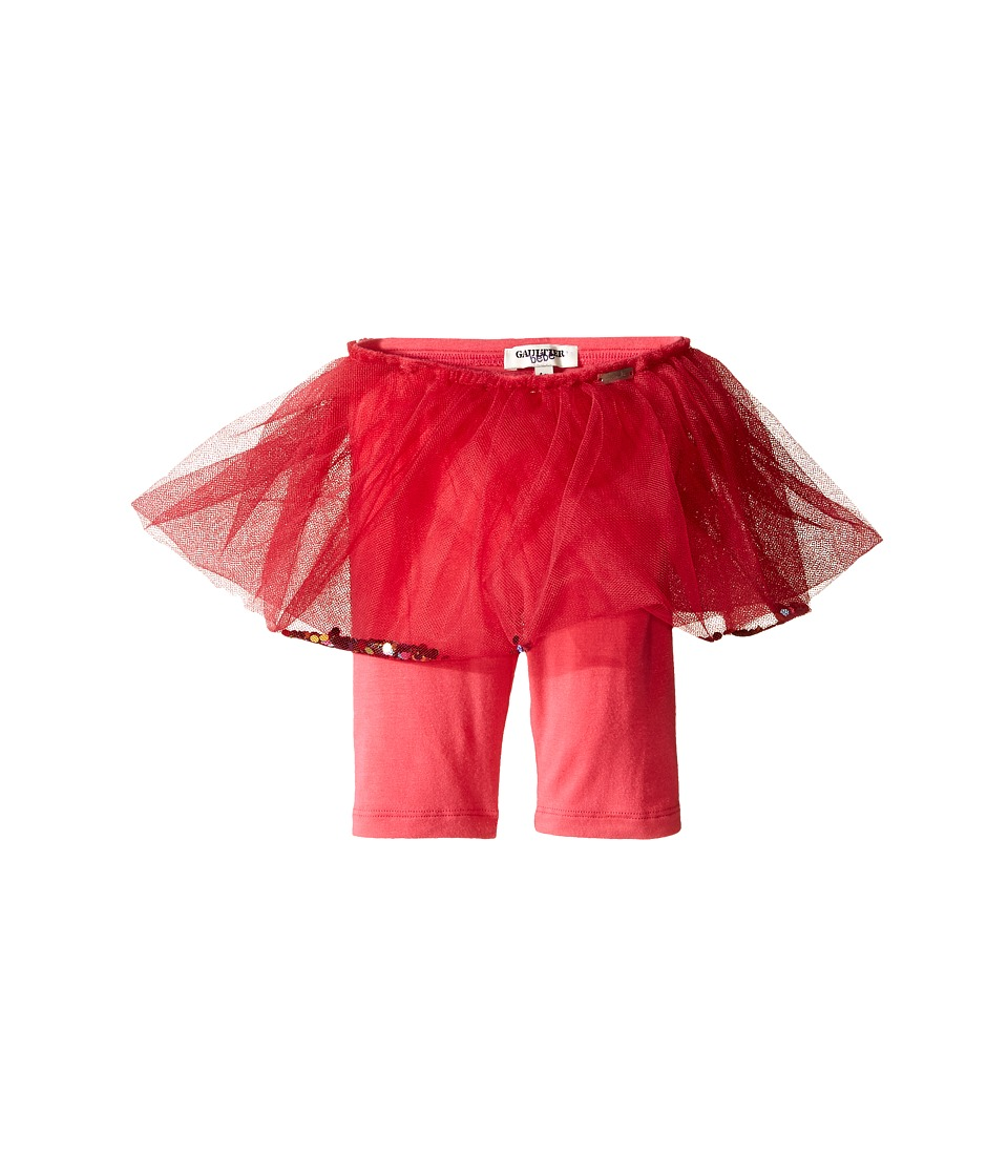 Junior Gaultier - Satine Leggings with Attached Tulle Skirt (Infant) (Pink) Girl's Casual Pants
