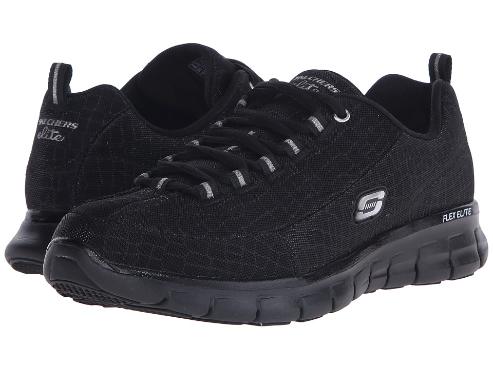 SKECHERS - Synergy - Style Watch (Black) Women's Shoes