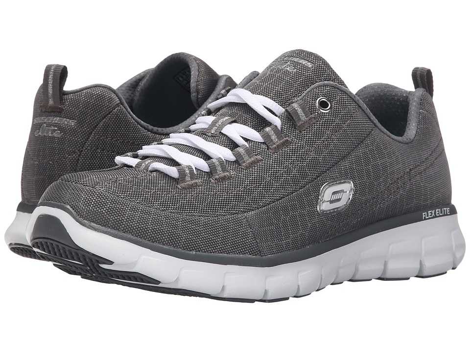 SKECHERS - Synergy - Style Watch (Charcoal) Women's Shoes
