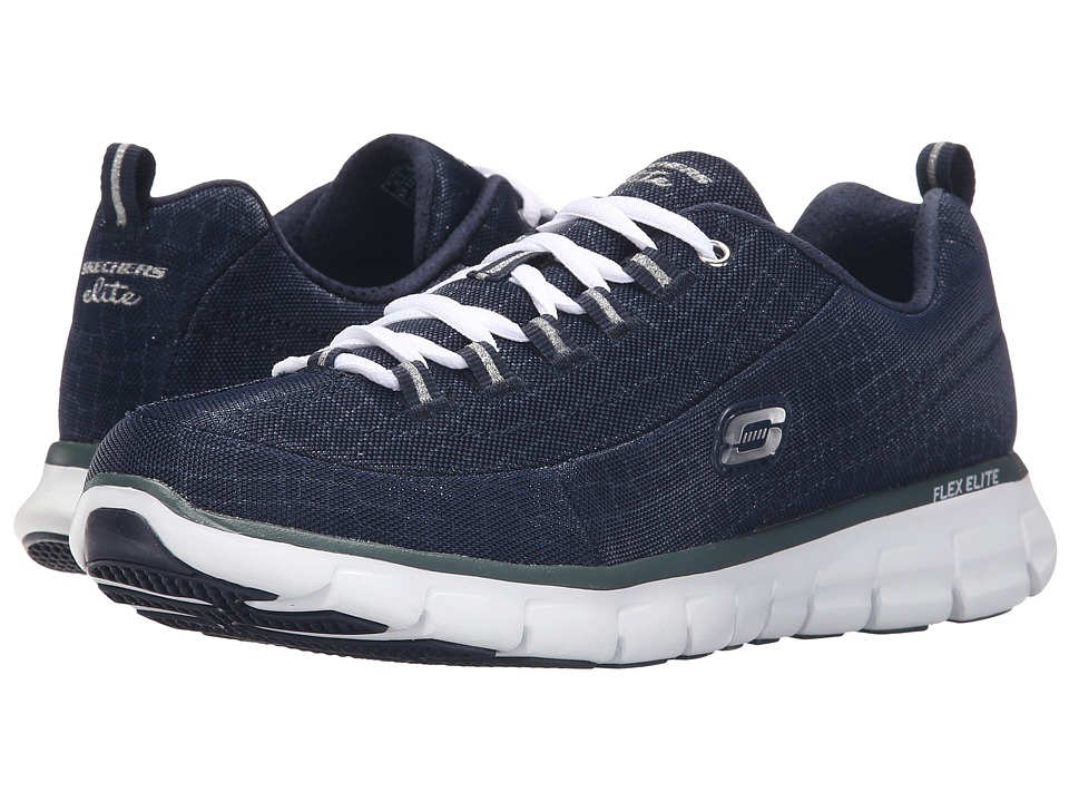SKECHERS - Synergy - Style Watch (Navy) Women's Shoes