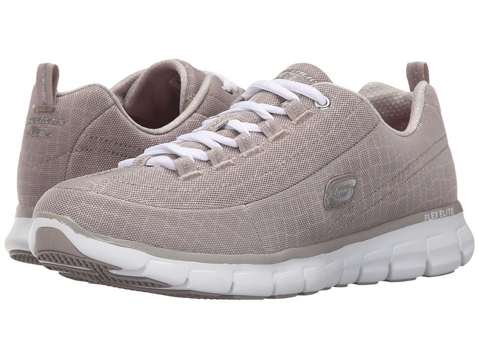 SKECHERS - Synergy - Style Watch (Taupe) Women's Shoes