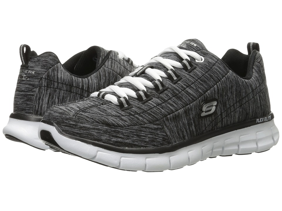 SKECHERS - Spot On (Black) Women's Running Shoes