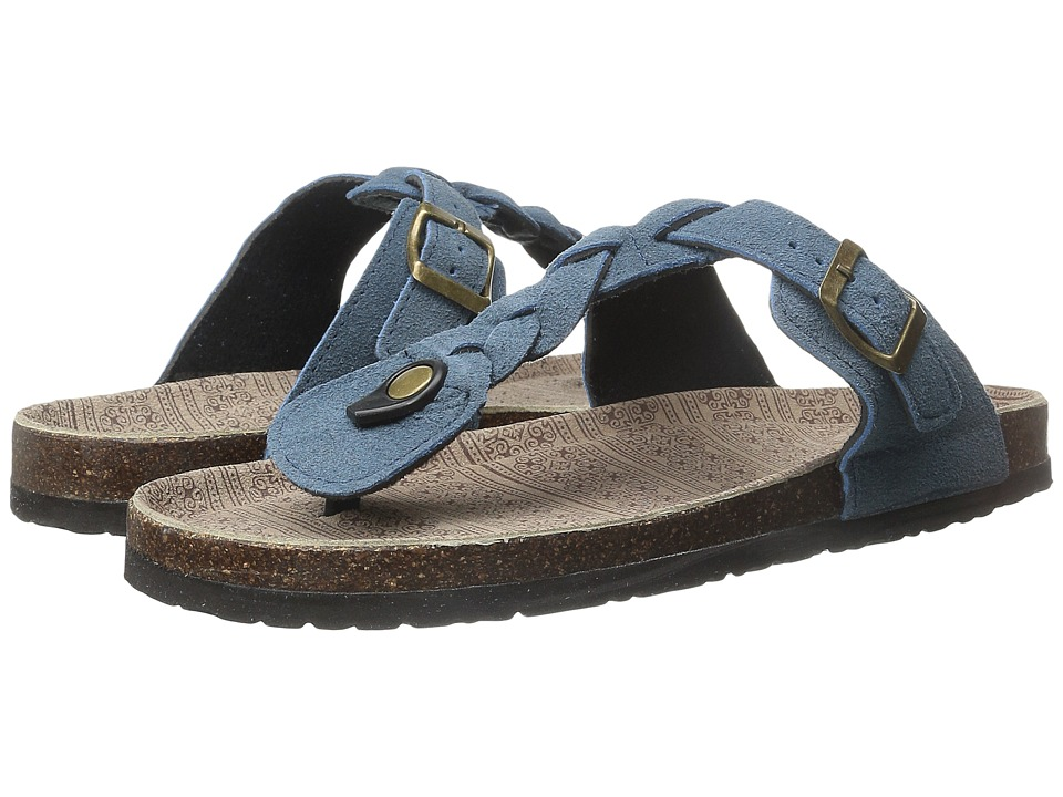 MUK LUKS - Marsha (Denim) Women's Sandals